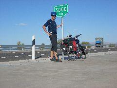 3000km marker