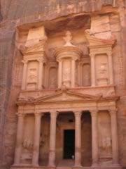 Petra Treasury late afternoon