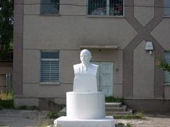 Bust of Lenin - still standing