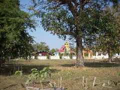 Temple on Don Khong