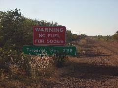 No fuel 500km