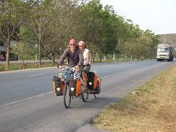 Riding in Thailand