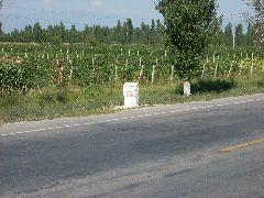 4808km road marker