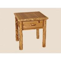 Cedar Log Living Room Furniture | White Cedar | Barnwood
