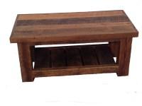 Reclaimed Barn Wood Coffee Table | White Cedar | Barnwood