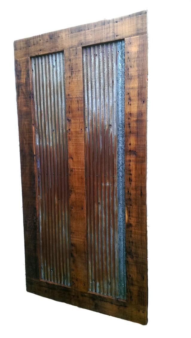 Reclaimed Barn Wood Sliding Door White Cedar