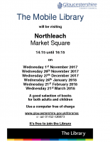 The Mobile Library – Northleach Nov 17 – Mar18