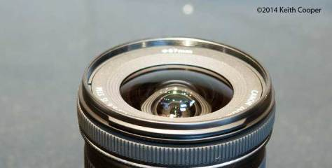 front element of lens
