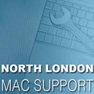 North London Mac Support Logo