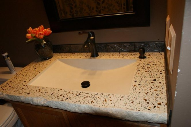 Bathroom Concrete Vanity Sink Portfolio