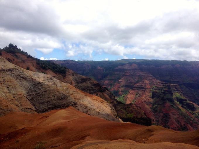 Waimea Canyon Kauai Lookout