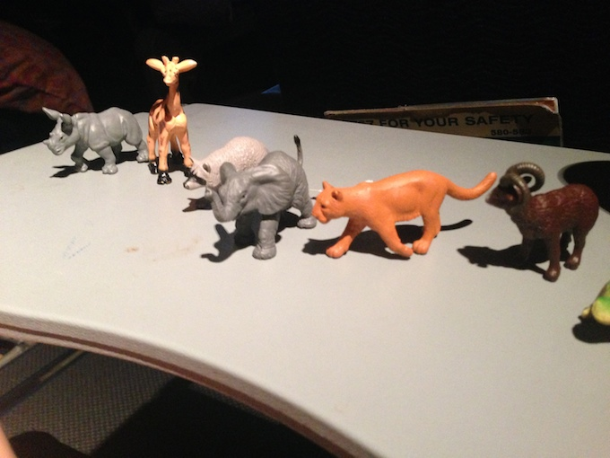 Successful Flight Animal Figurines