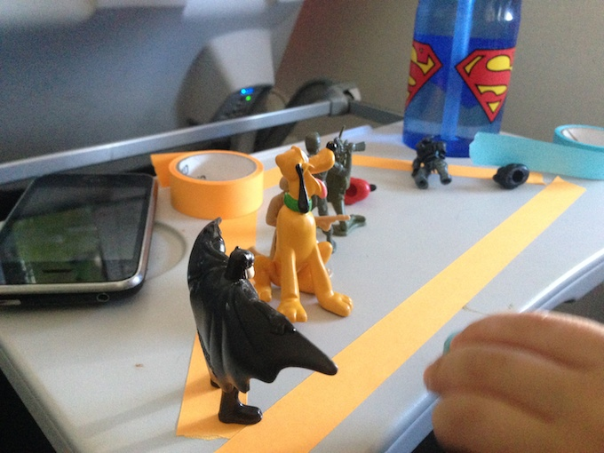 Successful Flight Batman