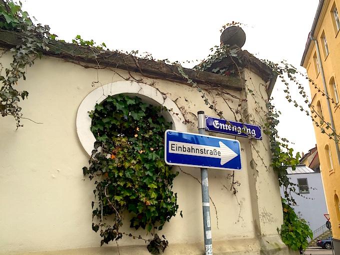Regensburg street signs
