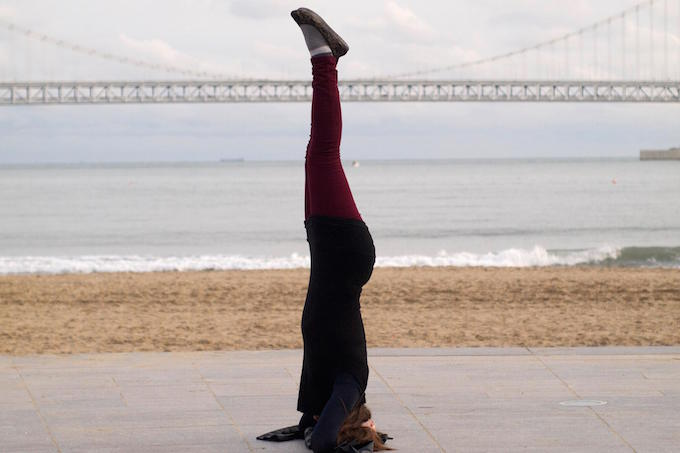 rhea yoga pose