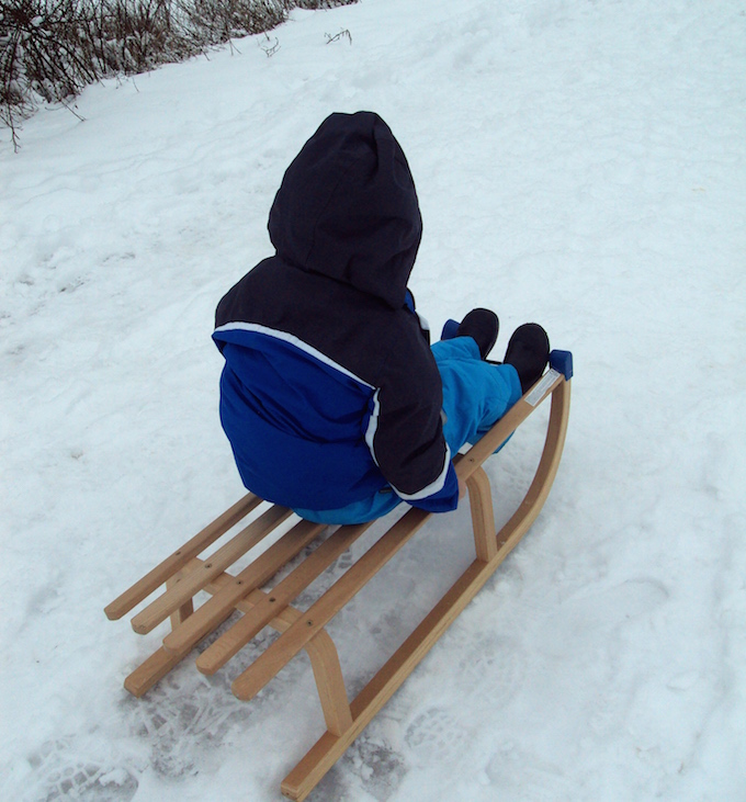 german sled