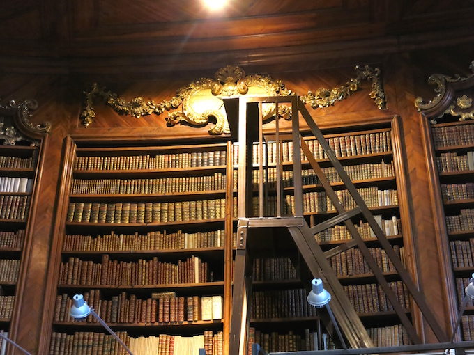 Austrian National Library Bookshelf