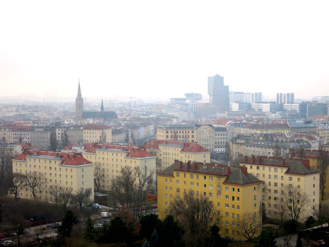 Skyline in Vienna