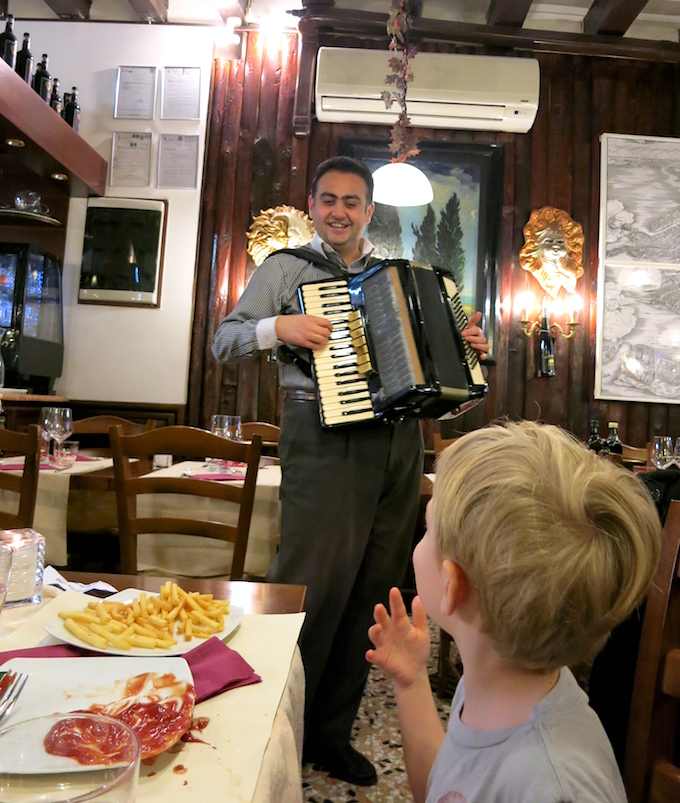 Venice Accordian Kid