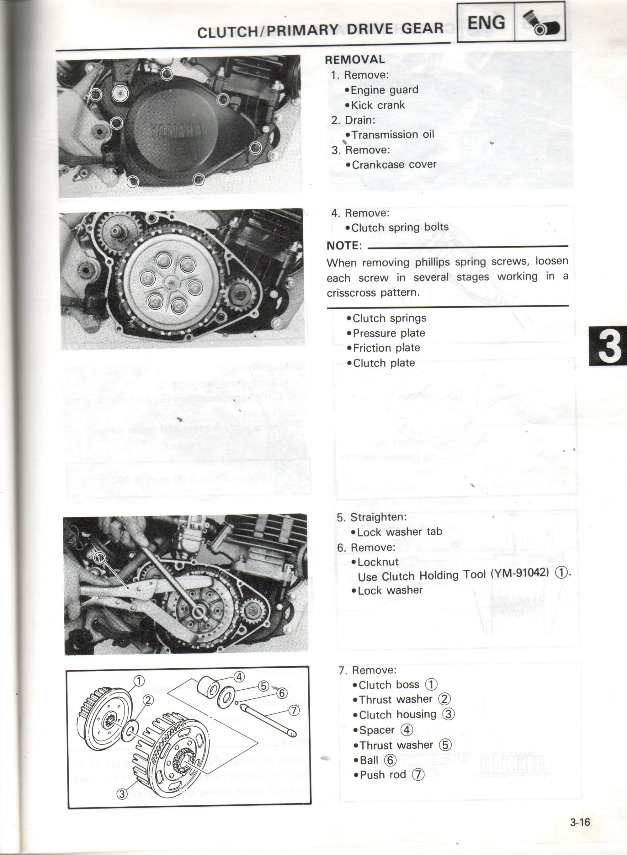 hight resolution of clutch primary drive gear