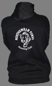 Back of hoodie with Pumas logo