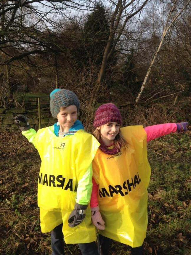 Mini Marshals Jude and Orlagh