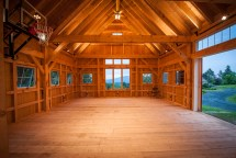 Classic Post and Beam Homes Inside