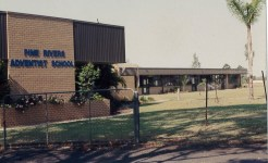 Northpine building history photo, 1978
