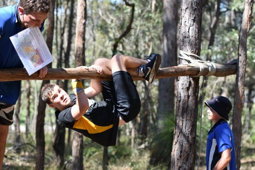 Student at Adventure Race