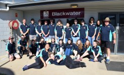 Community service group at Blackwater