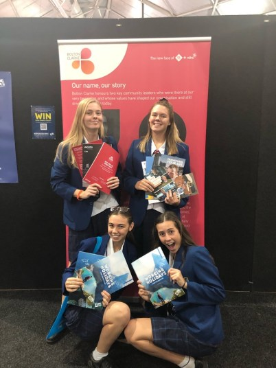 Students at Careers Expo