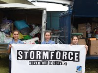 Stormforce donations to charity