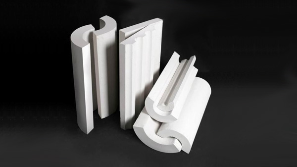 Calcium silicate pipe cover insulation   Pipe & Block 650°C