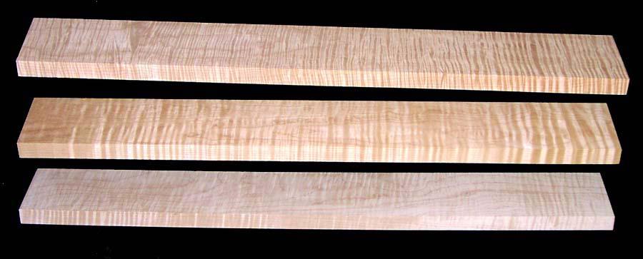 Quarter Sawn Maple Lumber