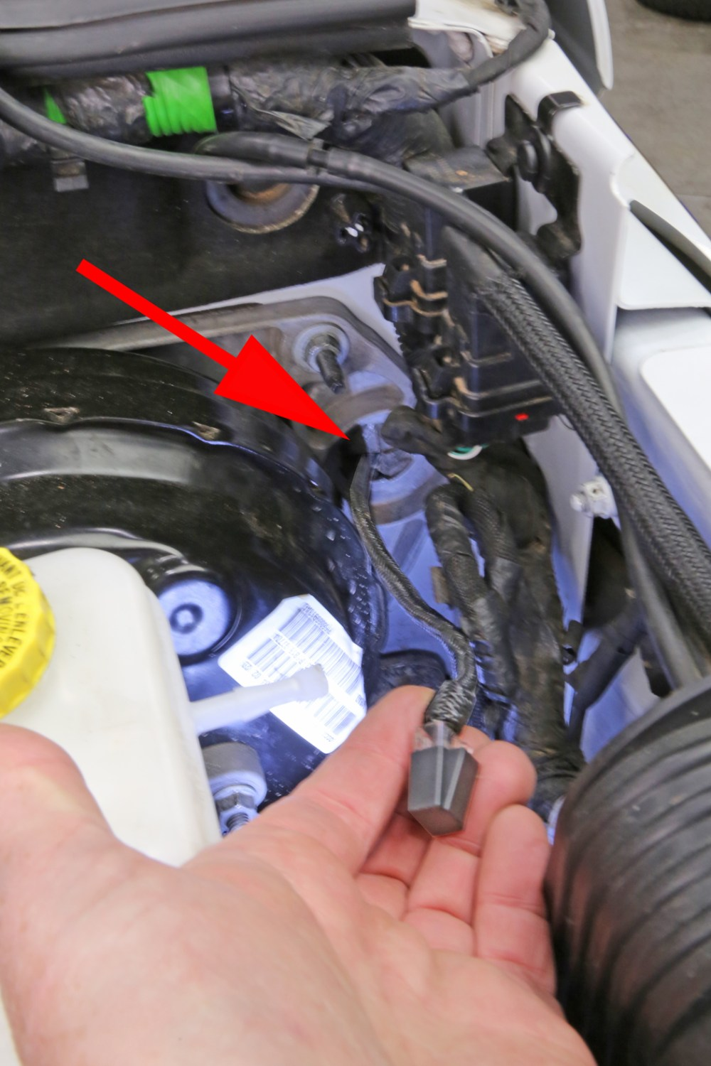 medium resolution of run the switch panel harness through the firewall grommet that is between the master cylinder and the inner fender if you find your having troubles getting