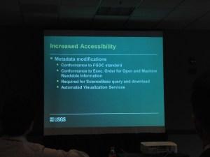 Increased Accessibility - Metadata