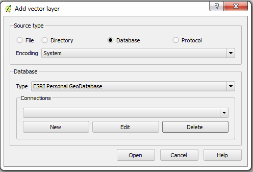 QGIS: Accessing a Personal Geodatabase • North River