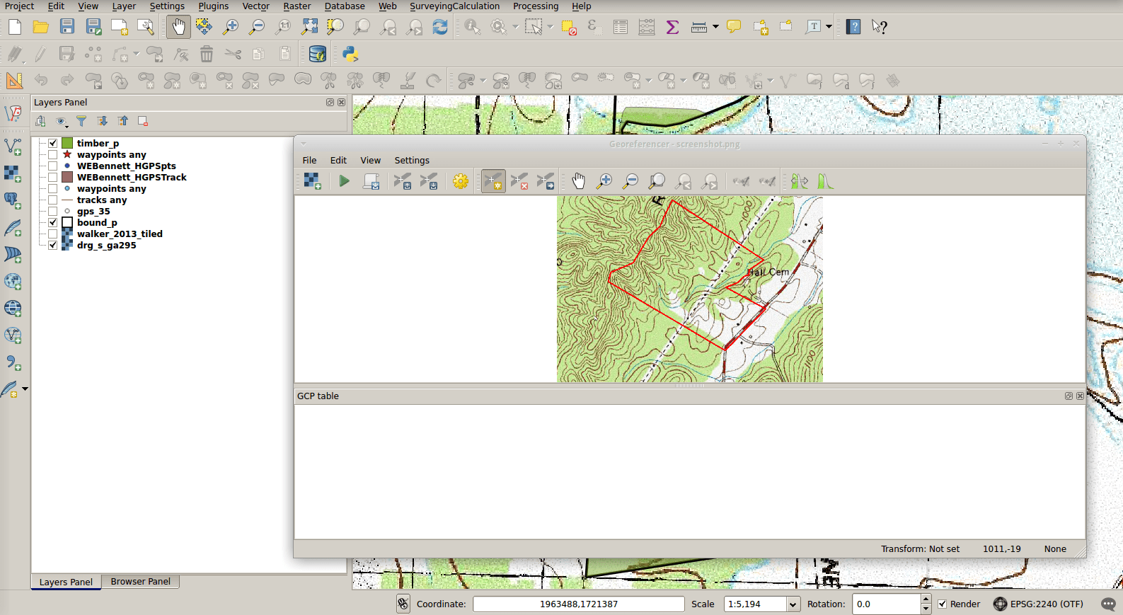 What plugins do I use from QGIS? • North River Geographic Systems Inc