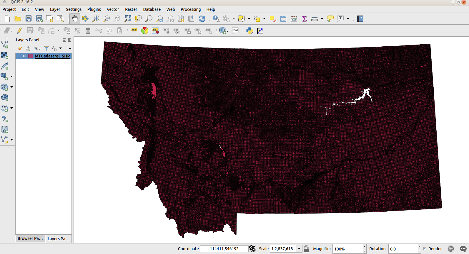 Geoprocessing in QGIS: 2 14 vs 2 16 • North River Geographic Systems Inc