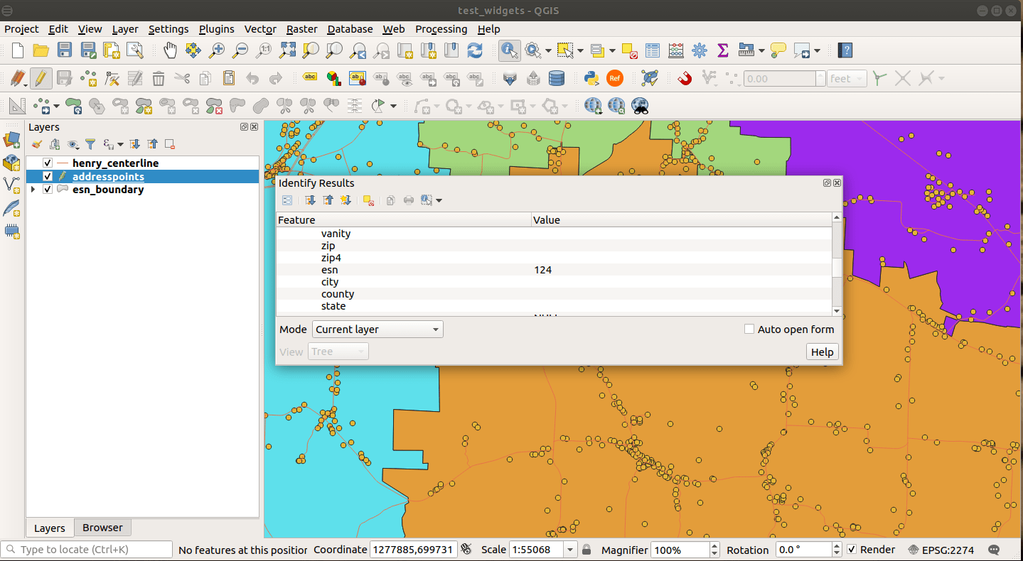 QGIS Screenshot