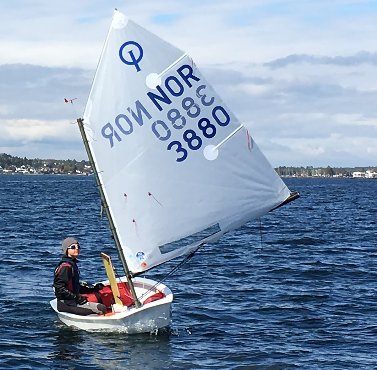 John Yvind Garvik Wins First Event Of Optimist Norwegian