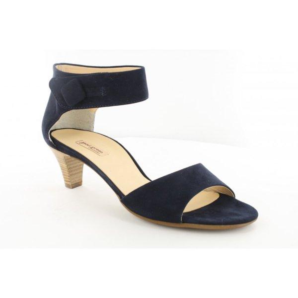 Paul Green 6956-01 Navy Womens Sandal Online Uk
