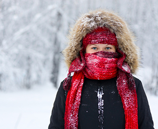 Image result for very bundled up for winter