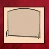 Old World Arch Top Single Panel Screen - Northshore Fireplace