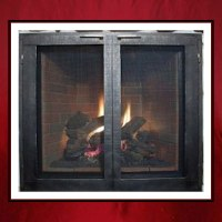 Contemporary Fireplace Door - Northshore ...