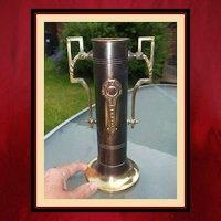 Vintage Brass Match Holder - Northshore Fireplace