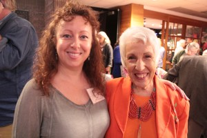 Beth Fiteni, Founder of Green Inside and Out and Ellen Kamhi at the 20187 Long Island Food Conference