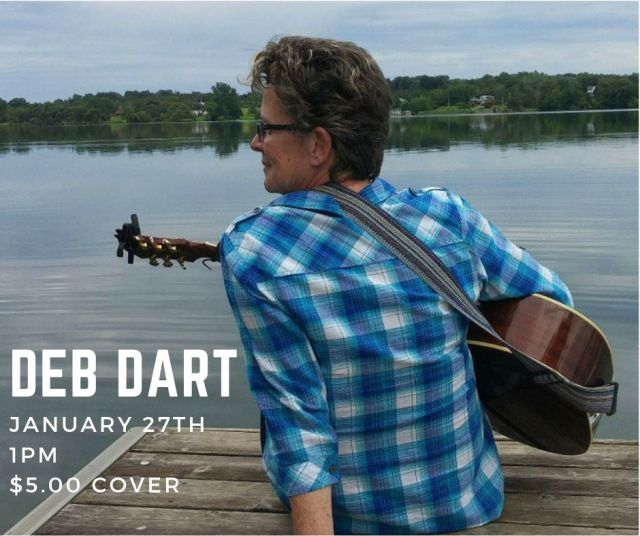 Deb Dart Live at The Old Book Store Cafe
