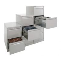4 Drawer Vertical Filing Cabinet Brownbuilt Legato ...