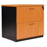 Logan Wooden 2 Drawer Lateral Filing Cabinet - Office ...